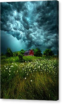 Riding The Storm Out Canvas Print by Phil Koch
