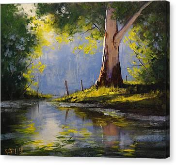 River Gum Canvas Print by Graham Gercken