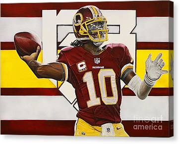Robert Griffin IIi Canvas Print by Anthony Young
