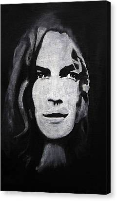 Robert Plant Canvas Print by William Walts