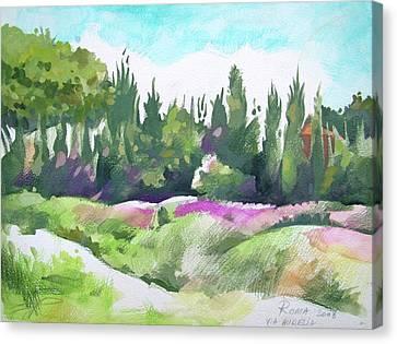Roma Canvas Print by Filip Mihail