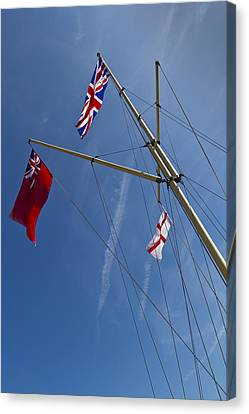 Rule Brittania Canvas Print by David Pyatt