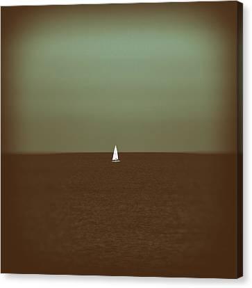 Sailing Canvas Print by Stelios Kleanthous