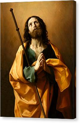 Saint James The Greater Canvas Print by Guido Reni