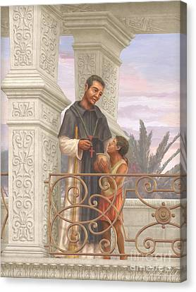 Saint Martin De Porres Canvas Print by John Alan  Warford