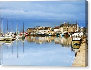 Saint-vaast-la-hougue Normandy France Canvas Print by Colin and Linda McKie