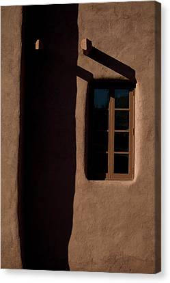 Santa Fe Light And Shadow Canvas Print by Elena Nosyreva