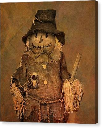 Scarecrow Canvas Print by Dan Sproul