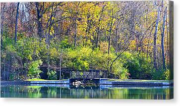 Sequiota Park Canvas Print by Deena Stoddard