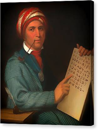 Sequoyah  Canvas Print by Mountain Dreams
