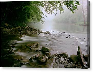 Shavers Fork - West Virginia Canvas Print by Mountain Dreams