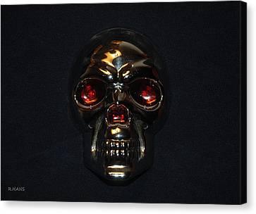 Skull Canvas Print by Rob Hans