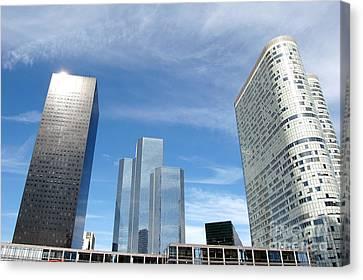 Skyscrapers Canvas Print by Michal Bednarek