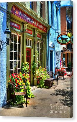 Small Town America 4 Canvas Print by Mel Steinhauer