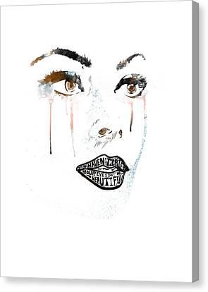 Sofia Loren Canvas Print by Pop Culture Prophet