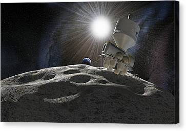 Space Exploration, Artwork Canvas Print by Science Photo Library