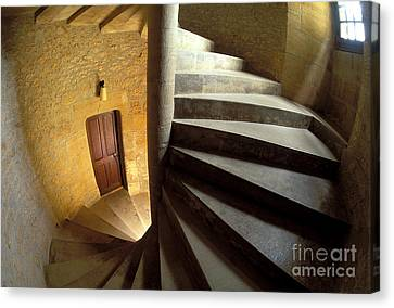 Spiral Staircase Canvas Print by Gregory G. Dimijian, M.D.