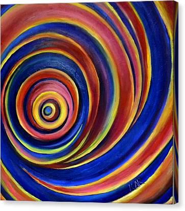 Spirals Canvas Print by Art by Kar