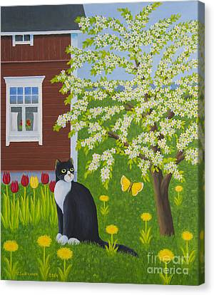 Spring Canvas Print by Veikko Suikkanen