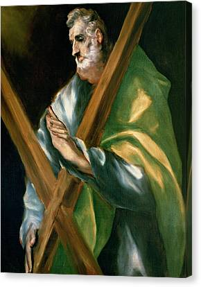 St Andrew Canvas Print by Celestial Images