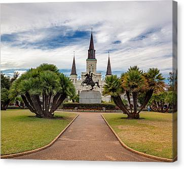 St. Louis Cathedral Iv Canvas Print by Chris Moore