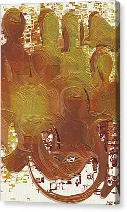Standing Ovation 4 Canvas Print by Jack Zulli