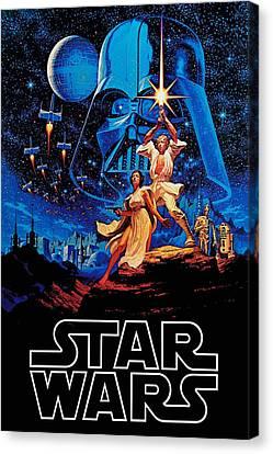 Star Wars Canvas Print by Farhad Tamim