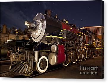 Steam Locomotive Canvas Print by Keith Kapple