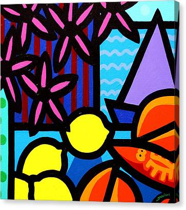 Still Life At Window IIi Canvas Print by John  Nolan