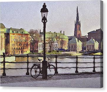 Stockholm 6 Canvas Print by Yury Malkov