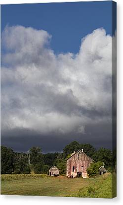 Storm Passing Canvas Print by Barbara Smith