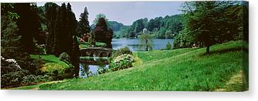 Stourhead Garden, England, United Canvas Print by Panoramic Images