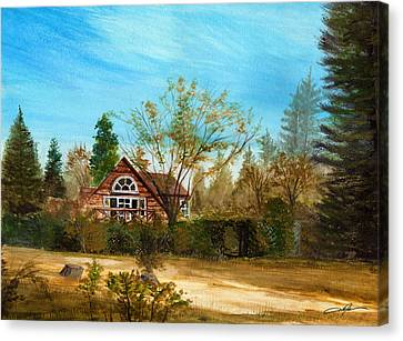 Strawberry Lodge Canvas Print by Dale Jackson