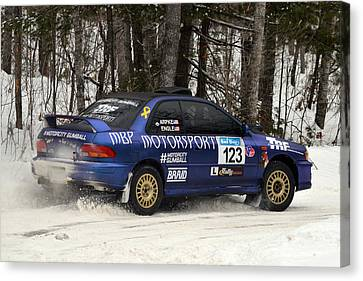 Subaru Car 123 Canvas Print by Rick Jackson