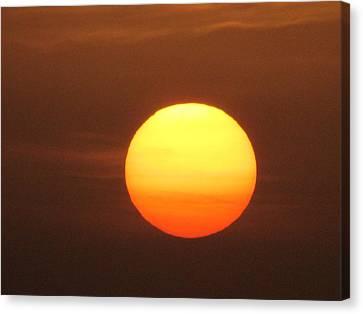 Sundown Canvas Print by Andrea Dale
