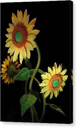Sunflower Canvas Print by Art Spectrum