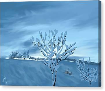 Sunrise Canvas Print by Veronica Minozzi