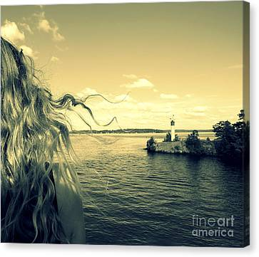 Sunshine Canvas Print by France Laliberte