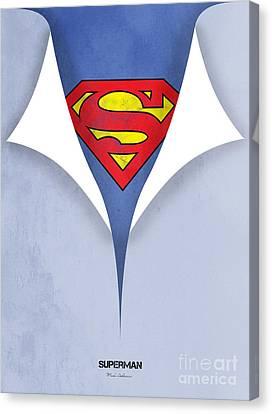 Superman 9 Canvas Print by Mark Ashkenazi