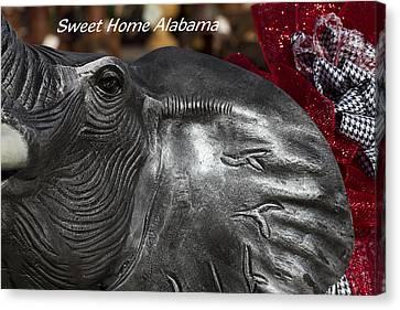 Sweet Home Alabama Canvas Print by Kathy Clark