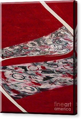Swirl Canvas Print by Gabriele Mueller