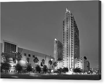 Tampa Skyline Canvas Print by Marvin Spates