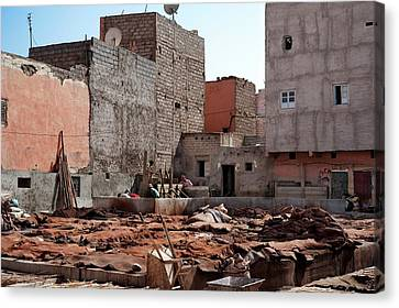 Tannery Canvas Print by Jon Wilson