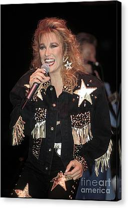 Singer Tanya Tucker Canvas Print by Front Row  Photographs