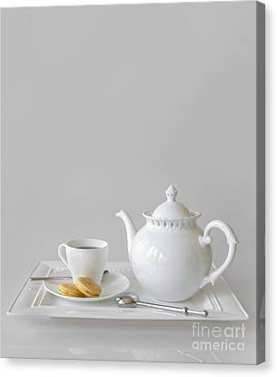 Tea And Cookies Canvas Print by Diane Diederich