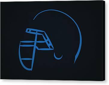 Tennessee Titans Helmet Canvas Print by Joe Hamilton