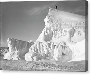 Terra Nova Antarctic Exploration Canvas Print by Scott Polar Research Institute