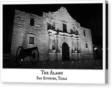 The Alamo Canvas Print by Stephen Stookey
