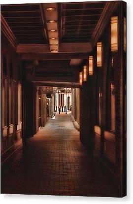 The Alleyway Canvas Print by Joann Vitali