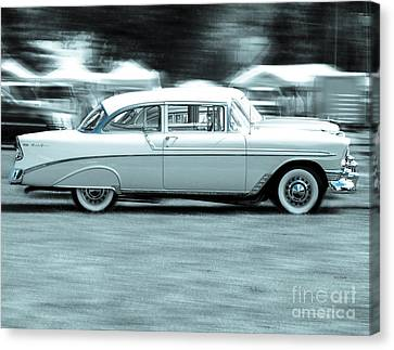 The Chevy Bel Air  Canvas Print by Steven  Digman